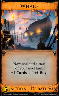 Wharf Dominion seaside card