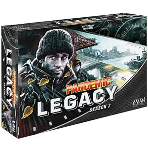 Pandemic Legacy Season 2 black edition