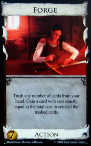 Forge Dominion card
