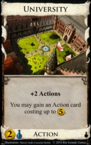 University Dominion Alchemy expansion card