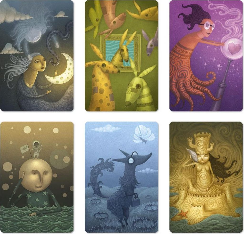 Dixit Daydreams cards