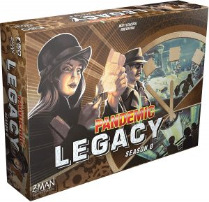 Pandemic Legacy Season 0 box
