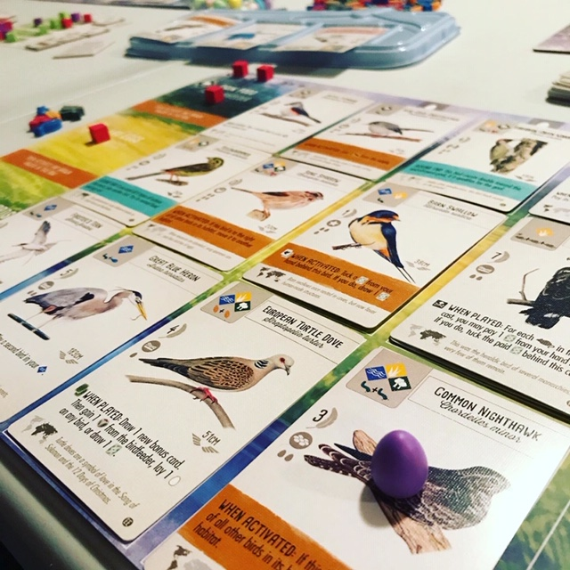 Wingspan Europe expansion cards