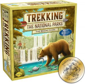 TREKKING National Parks boar game